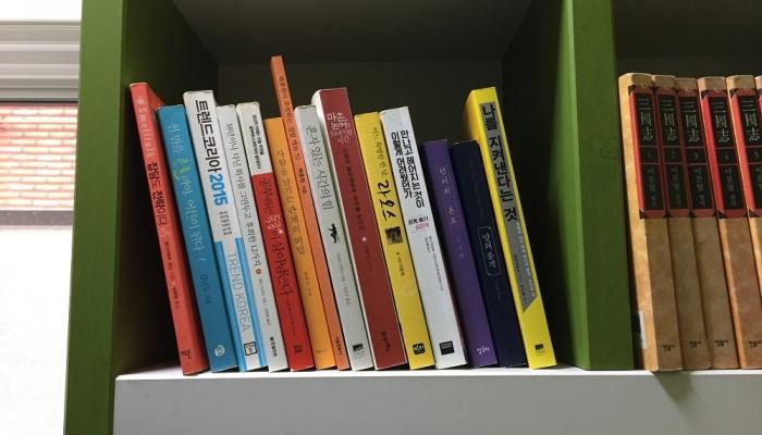 홍시공유도서관을 시작합니다.